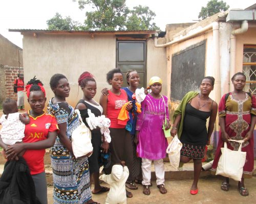 Material support for adolescent mothers