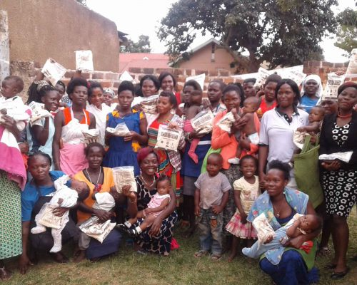 Nutritional support to adolescent mothers