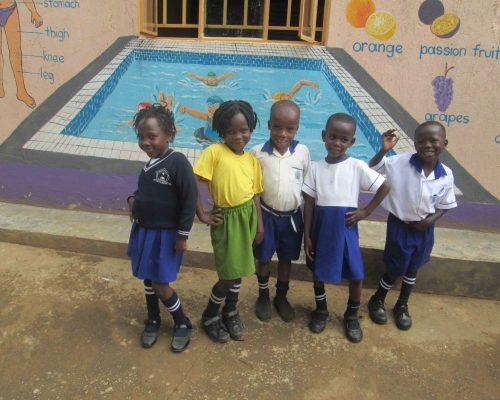 Sponsored teen mothers' children in the nursery school